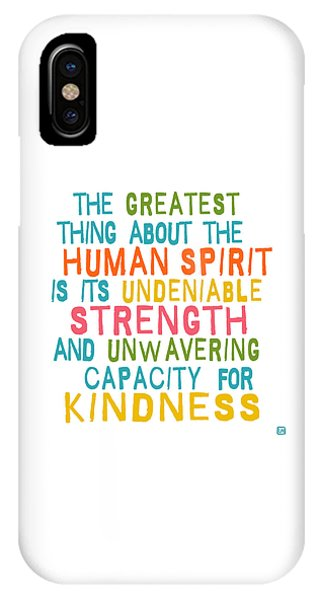 The Human Spirit IPhone Case