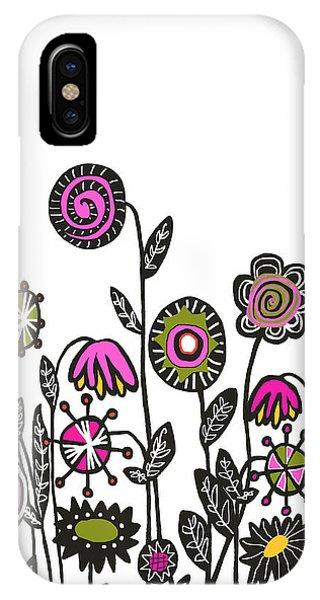 Hippie Garden IPhone Case