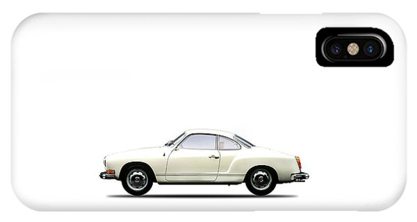 Volkswagen iPhone Case - The Karmann Ghia by Mark Rogan