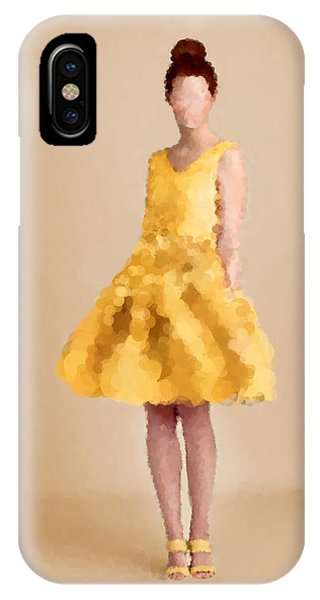 IPhone Case featuring the digital art Emma by Nancy Levan