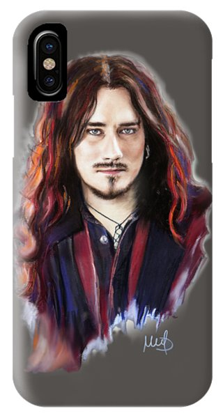 Gothic iPhone Case - Tuomas Holopainen by Melanie D