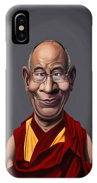 Celebrity Sunday - Dalai Lama IPhone Case