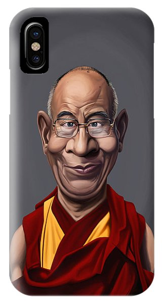 Celebrity Sunday - Dalai Lama IPhone Case
