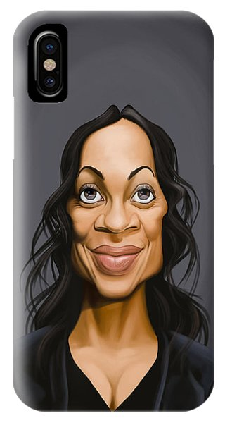 Celebrity Sunday - Rosario Dawson IPhone Case