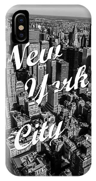 White iPhone Case - New York City by Nicklas Gustafsson