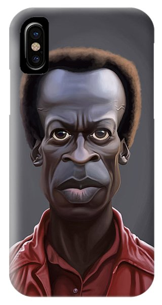 Celebrity Sunday - Miles Davies IPhone Case