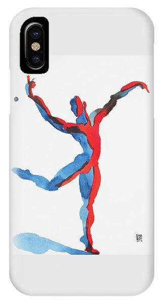 Ballet Dancer 3 Gesturing IPhone Case