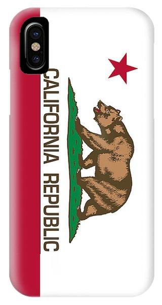 California Republic State Flag Authentic Version IPhone Case