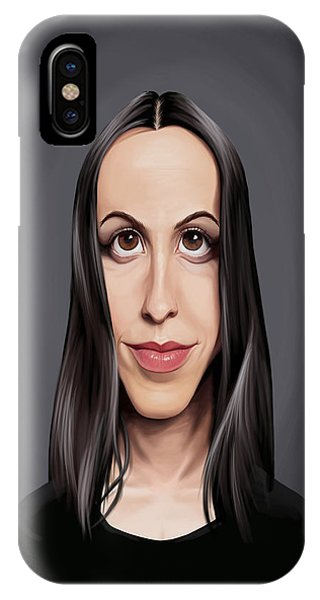 Celebrity Sunday - Alanis Morissette IPhone Case