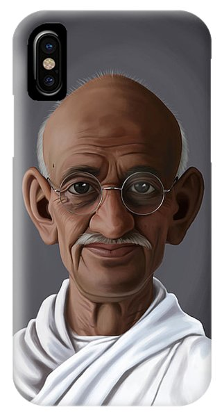 Celebrity Sunday - Mahatma Gandhi IPhone Case