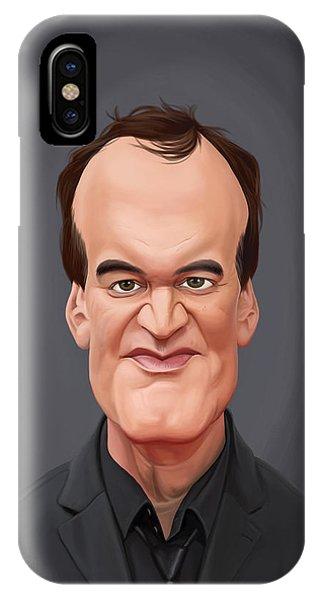 Celebrity Sunday - Quentin Tarantino IPhone Case