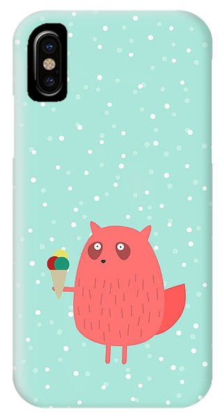 Ice iPhone Case - Ice Cream Dreams #1 by Fuzzorama