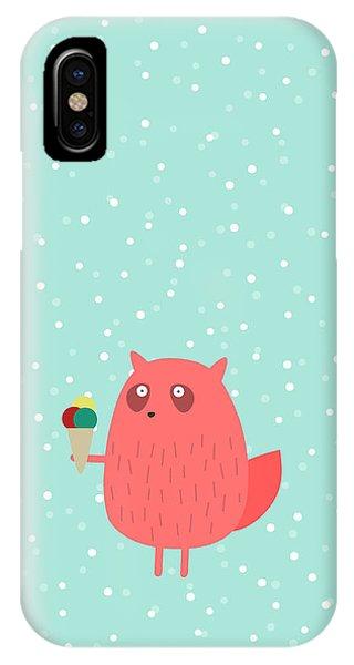 Ice Cream iPhone Case - Ice Cream Dreams #1 by Fuzzorama