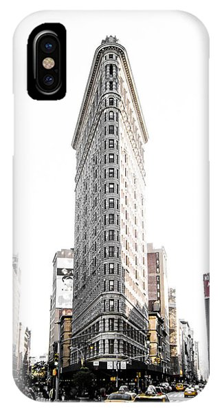 New York City Taxi iPhone Case - Desaturated New York by Nicklas Gustafsson