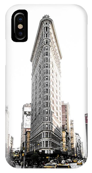 Street iPhone Case - Desaturated New York by Nicklas Gustafsson