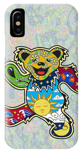 Famous People iPhone Case - Grateful Dead by Troy Arthur Graphics