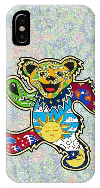 Vector Graphics iPhone Case - Grateful Dead by Troy Arthur Graphics