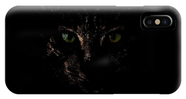 IPhone Case featuring the photograph Dark Knight by Helga Novelli
