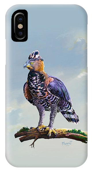 African Crowned Eagle  IPhone Case