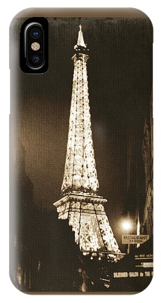 France iPhone Case - Postcard From Paris- Art By Linda Woods by Linda Woods