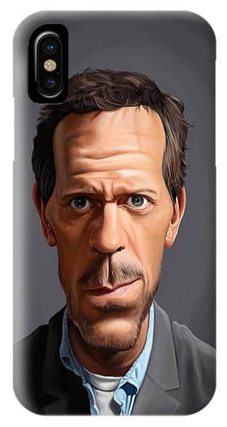 Celebrity Sunday - Hugh Laurie IPhone Case