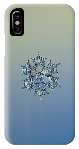 Snowflake Photo - Flying Castle Alternate IPhone Case