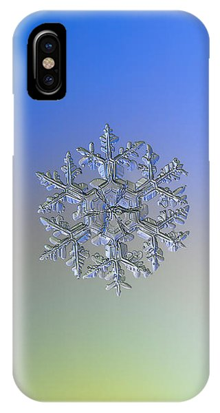 Snowflake Photo - Gardener's Dream Alternate IPhone Case