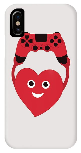 Gamer Heart IPhone Case