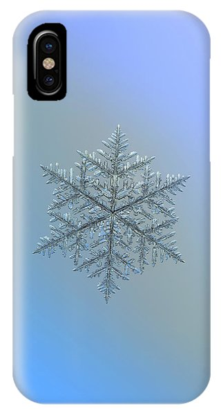 Snowflake Photo - Majestic Crystal IPhone Case