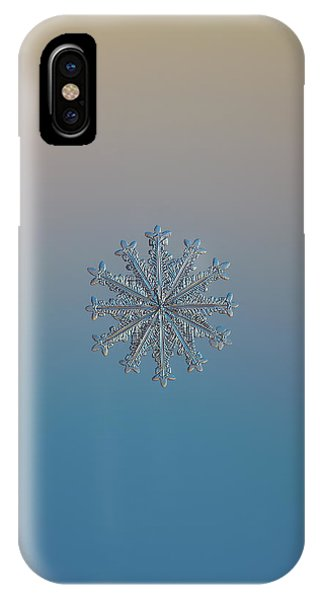 Snowflake Photo - Wheel Of Time IPhone Case