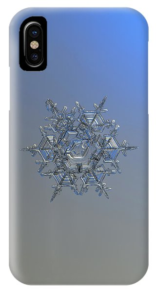 Snowflake Photo - Crystal Of Chaos And Order IPhone Case