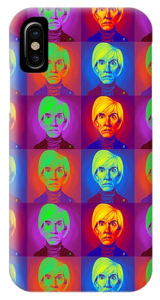 Andy Warhol On Andy Warhol IPhone Case