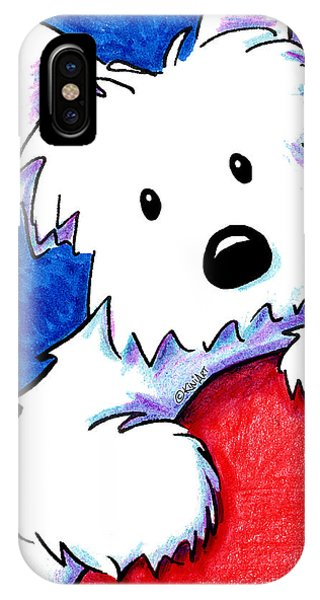 Wendell The Westie IPhone Case