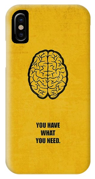 Office iPhone Case - You Have What You Need Corporate Start-up Quotes Poster by Lab No 4