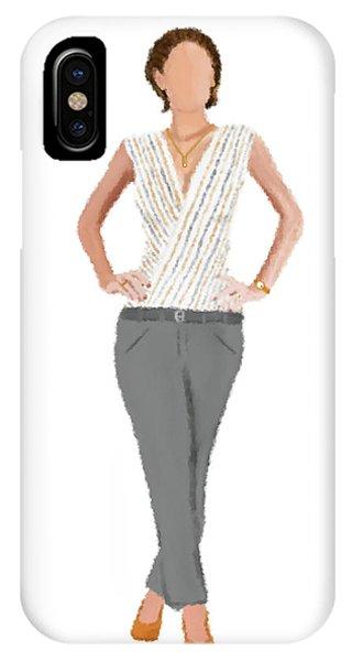 IPhone Case featuring the digital art Alex by Nancy Levan