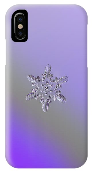 Snowflake Photo - Heart-powered Star IPhone Case