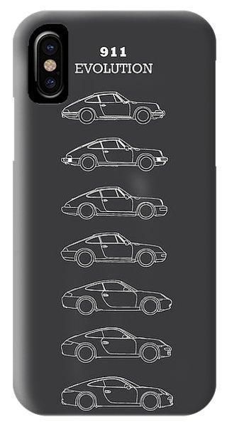 Vw iPhone Case - 911 Evolution by Mark Rogan