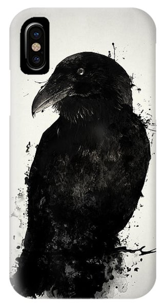 Digital iPhone Case - The Raven by Nicklas Gustafsson