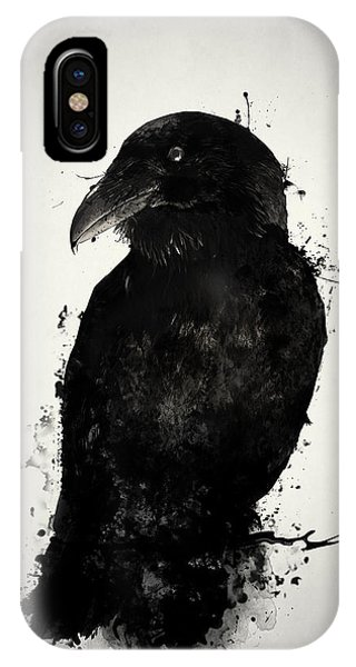 iPhone Case - The Raven by Nicklas Gustafsson