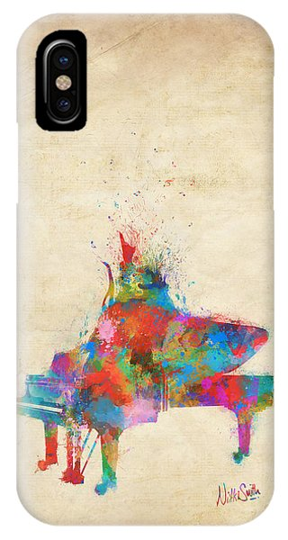 Music Strikes Fire From The Heart IPhone Case