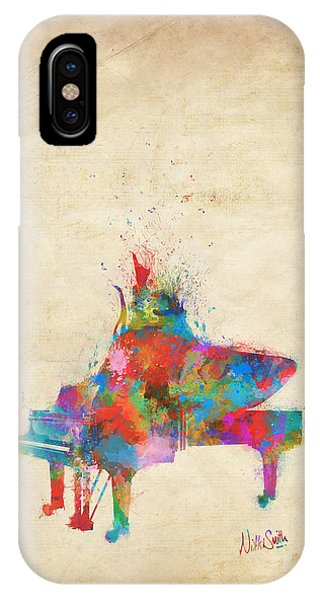 Layered iPhone Case - Music Strikes Fire From The Heart by Nikki Marie Smith