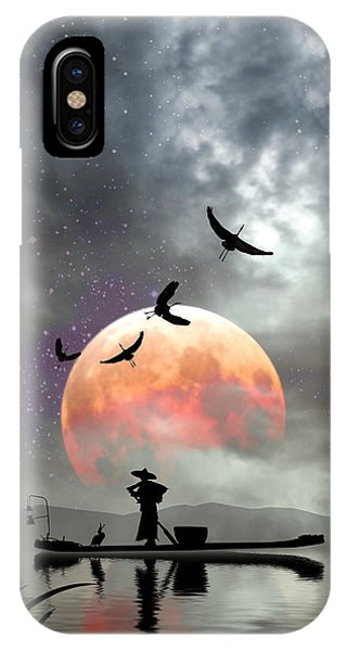Moon Mist IPhone Case
