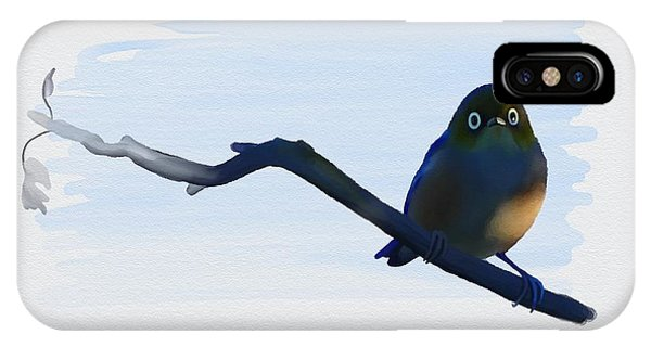 Eye To Eye With Silvereye IPhone Case