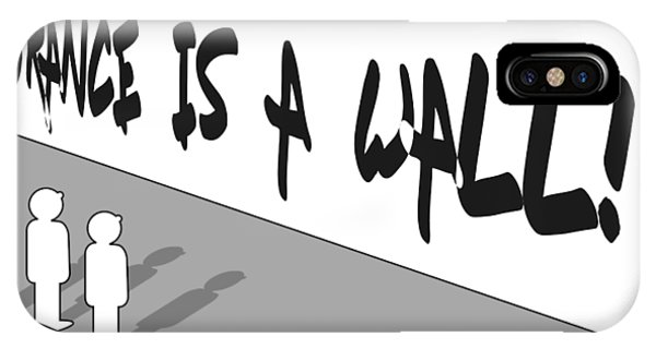 Ignorance Is A Wall IPhone Case