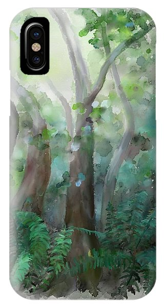 IPhone Case featuring the painting Jungle by Ivana Westin