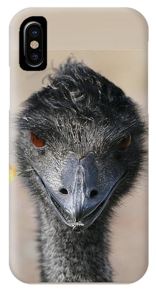 Happy Emu IPhone Case