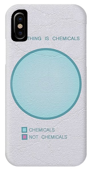 Everything Is Chemicals IPhone Case