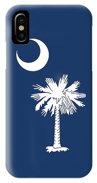 Flag Of South Carolina Authentic Version IPhone Case
