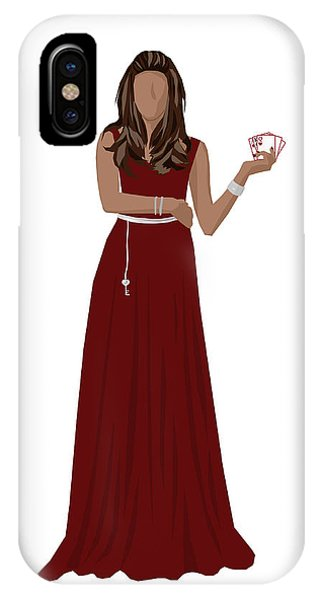 IPhone Case featuring the digital art Hoda by Nancy Levan
