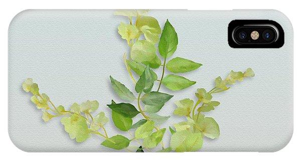 Yellow Tiny Flowers IPhone Case